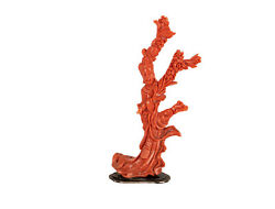One Chinese Red Coral/silver Figure One Heavenly Beauty China