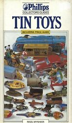 Vintage Tin Toys - Aircraft Boats Space Cars Animals Railroad Etc. / Scarce Book