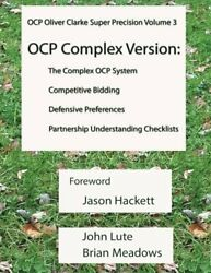 Ocp System Oliver Clarke Super Precision Volume 3 Complex By John Lute And Brian