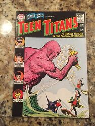 Brave And The Bold 60 1st Wonder Girl 2nd Teen Titans Dc 1965 High Grade Beauty