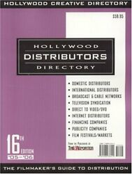 Hollywood Distributors Directory, 16th Edition By Staff Of Hollywoood Creative
