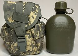 Molle Ii Acu Canteen Pouch With Canteen - Great Condition