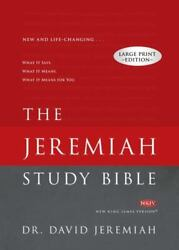 Jeremiah Study Bible-nkjv-large Print What It Says. What It Means. What It Mean