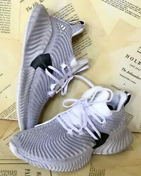 Adidas Sneakers Gray Alphabounce Mesh Lightweight Cushioned Bounce 7 New