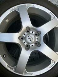 Aluminum Wheels Skyline Genuine Made By Rays With Tires