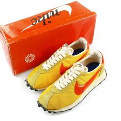 Nike Ld-1000 Orange X Yellow Menand039s Size 8 Dead Stock Made In Japan 70s Vintage