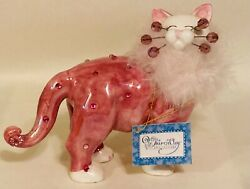 2004 AMY LACOMBE WHIMSICLAY CAT FIGURINE PRIYA 86145 EXCELLENT