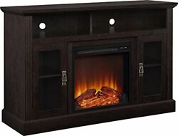 Ameriwood Home Chicago Electric Fireplace Tv Console, Tvs Up To A 50, Espresso