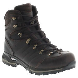 Lowa Mens Boots Pinto Gtx Mid Hiking Gore-tex Lace-up Leather Synthetic