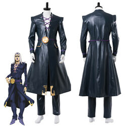 Golden Wind Leone Abbacchio Outfit Cosplay Costume