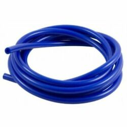 16.4ft 5m 3mm Silicone Vacuum Tube Hose Silicone Tubing Blue For Car Auto Truck