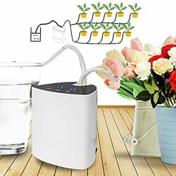 Hourleey Automatic Pump Drip Irrigation Kit Indoor Self Watering System With ...