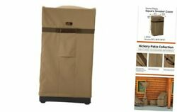 Hickory Water-resistant 21 Inch Square Smoker Grill Cover Large