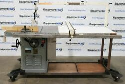 Delta Rockwell 34-466 10 5hp Table Saw W/ Biesemeyer Blade Guard And 50 Fence