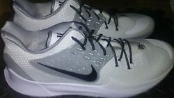 White/grey Kyrie Irving Sneakers Size 18 New With Tags And Socks