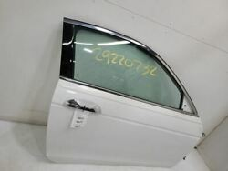 2008-12 Honda Accord Passenger Front Rh Right Door Electric Coupe Ex White