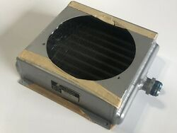 Military Aircraft Oil Cooler Heat Exchanger Amazing P/n 5210-02 Experimental