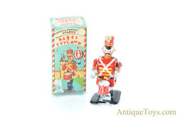 Linemar Marx Tin Litho Mechanical Marching Soldier Disney Babes In Toyland W/box