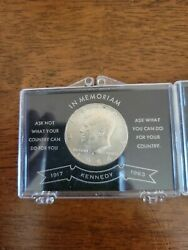 Lot Of 2.1964 Kennedy D Silver Half Dollar Coin.uncirculated Silver Great Shape