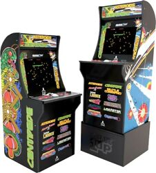 Arcade1up Atari 12 In 1 Deluxe Edition Centipede Asteroids W/ Riser And Upgrades