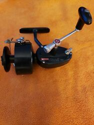 1-garcia Mitchell 400 Blue Vintage Spinning Fishing Reel Collectible France