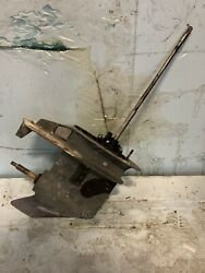 Johnson Omc 25hp Outboard 2 Stroke 2 Cylinder Lower Unit Gearcase