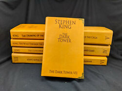 The Dark Tower Complete 8 Book Set By Stephen King Leather Re-bound