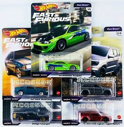 Hot Wheels 2021 Fast And Furious Premium Fast Stars Complete Set Of 5 Car In Stock