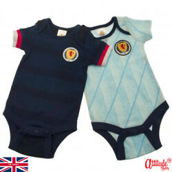 Scotland Baby Grows-2 Pack-official Licensed Scotland Baby Grows-scotland Baby