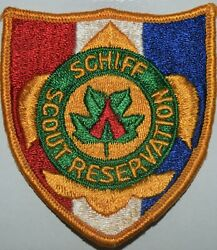 Schiff Scout Reservation Gauze Patch Bsa Boy Scout Theodore Roosevelt Council