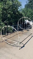 Antique Victorian Iron Bed Framedouble Full Size Circa 190040