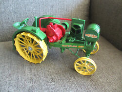 Vintage Ertl Toys Made In Usa Waterloo Boy Farm Tractor 1914-1919 1/16 Scale