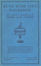 Antique Early American Pressed Glass Patterns / In-depth Illustrated Book