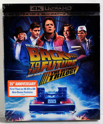 Back to the Future The Ultimate Trilogy 4K Ultra HD UHD Blu ray Digital Code