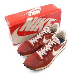 Nike Challenger Sneakers Brown Dead Stock Menand039s 7 1/2 Made In Usa 1979 Vintage
