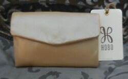 Hobo International LACY Leather Trifold Compact Wallet BLUSH ROSE GOLD NWT $78 $39.95