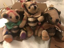 Lot Of 3 Bear Keychains/ Only One Box Great Deal