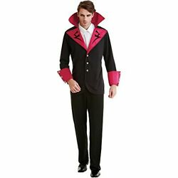 Virile Vampire Adult Menand039s Halloween Dress Up Theme Party Cosplay Costume Med...