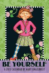 Mary Engelbreit 2013 Monthly Pocket Planner Be Yourself Brand New
