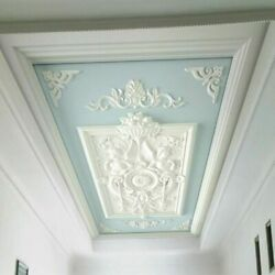 3d White Angels Carved Ceiling Wall Mural Wallpaper Bedroom Living Room Lounge