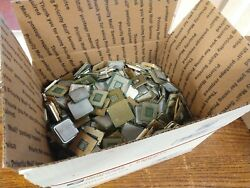 Lot Of 25+ Pounds Of Pinned And Pinless Scrap Cpuand039s For Gold Recovery