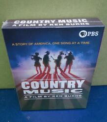 Country Music A Film By Ken Burns 8-disc Dvd Set Brand New