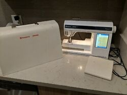 Husqvarna Viking Designer1 Sewing And Embroidery Machine Floppy Disk/accessories