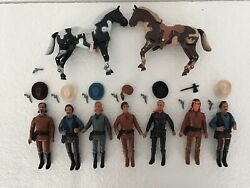 Legends Of The West 6 X Action Figures 1978