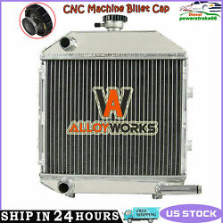 Sba310100211 Aluminum Compact Radiator Fit Ford 1300 Tractor New