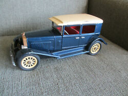 Vintage Antique Tin Friction Motor 1925 Lincoln Toy Car 10.5 L - Repair / Parts
