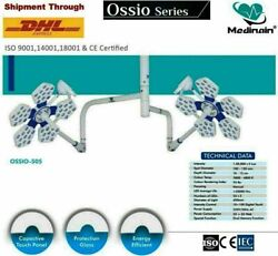 Operation Theater Light Shadowless Led Cold Light Double Satellite Lamp Star 5+5