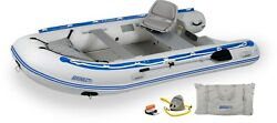 Sea Eagle 12.6 Sport Runabout Inflatable Boat W/swivel Seat- Ds Or Plastic Floor
