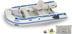 Sea Eagle 10.6 Sport Runabout Inflatable Boat W/swivel Seat- Ds Or Plastic Floor