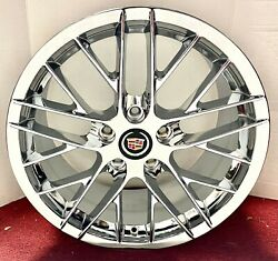 Set Of 4 Cadillac Xlr Only Perfect Fit Chrome Plated 18 X 8.5 Wheels